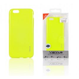 Apple Iphone 6 / 6s silikoonkaitse Vennus  õhuke erkkollane