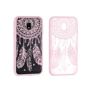 Huawei Y7 Lace ümbris Design 3 roosa