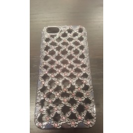 Apple Iphone 5 / 5S / SE silikoonkaitse Flower Diamonds white