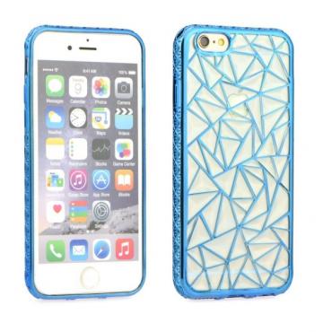Apple Iphone 7 / 8 Luxury Metalic Silikoonkaitse helesinine