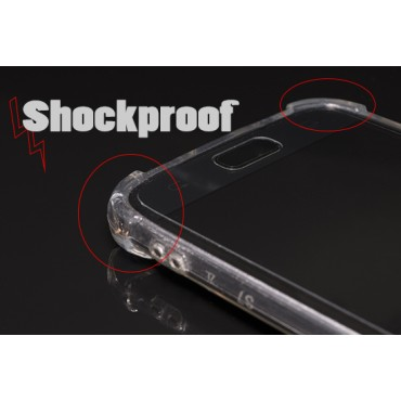Huawei Y6 (2018) silikoonkaitse põrutuskindel läbipaistev