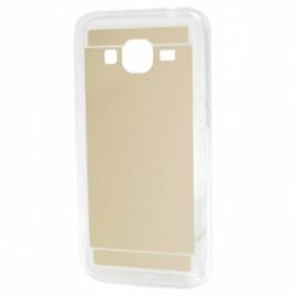 LG G3 D855 silikoonkaitse peegeltagusega kuldne