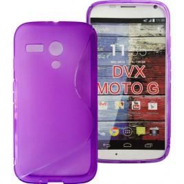 Motorola Moto G XT1028 silikoonkaitse lilla
