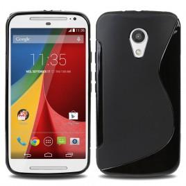 Motorola Moto G2 / Moto G 2nd XT1068 silikoonkaitse must
