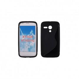 Motorola Moto G XT1028 silikoonkaitse must