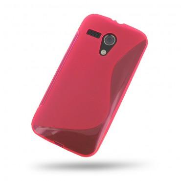 Motorola Moto G XT1028 silikoonkaitse punane