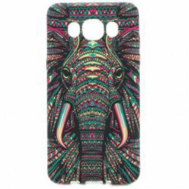 Samsung J510 Galaxy J5 (2016) silikoonkaitse helendav elevant
