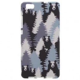 Apple Iphone 6 / 6s silikoonkaitse helendav karud