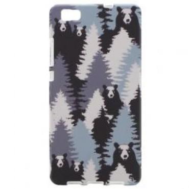 Apple Iphone 7 / 8 silikoonkaitse helendav karud