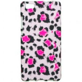 Apple Iphone 7 / 8 silikoonkaitse helendav roosa panter