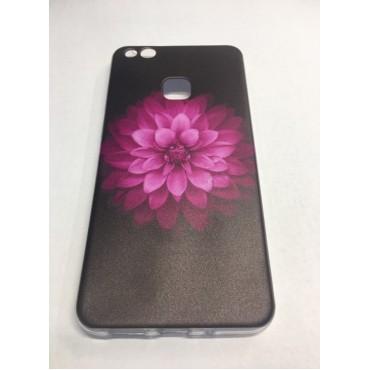 Huawei P10 silikoonkaitse Pink Mandala