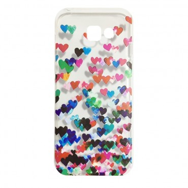 Apple Iphone 6 Plus / 6s Plus silikoonkaitse Hearts värviline