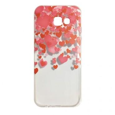 Sony Xperia XA1 silikoonkaitse Hearts Red