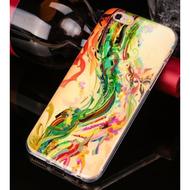 Apple Iphone 7 Plus / 8 Plus silikoonkaitse Painted Flower Fuse