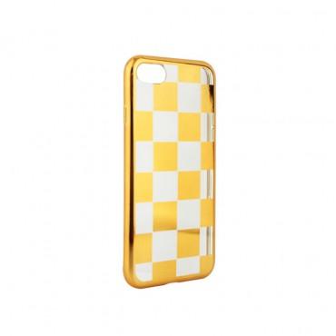 Samsung S8 / G950 silikoonkaitse Chess kuldne