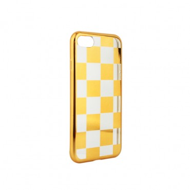 Samsung J3 (2017) / J330 silikoonkaitse Chess kuldne