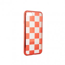 Apple Iphone 7 / 8 silikoonkaitse Chess punane