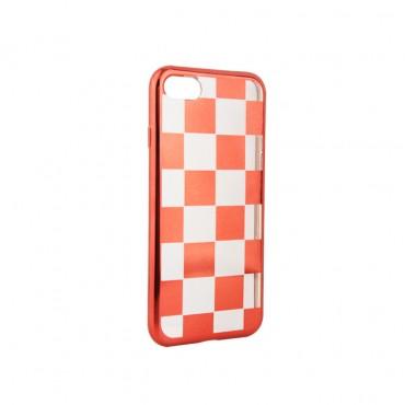 Apple Iphone 7 / 8 silikoonkaitse Chess punane