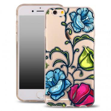 Samsung S7 / G930 silikoonkaitse õhuke läbipaistev Flower