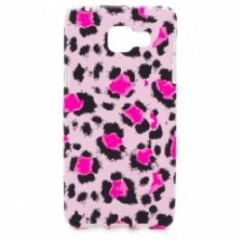 Samsung A510 / A5 2016 silikoonkaitse helendav roosa panter