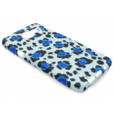 Samsung A510 / A5 2016 silikoonkaitse helendav sinine panter