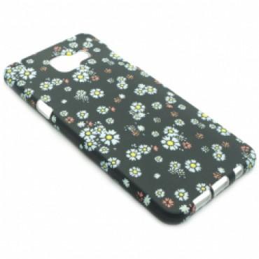 Samsung A510 / A5 2016 silikoonkaitse helendav sinised lilled