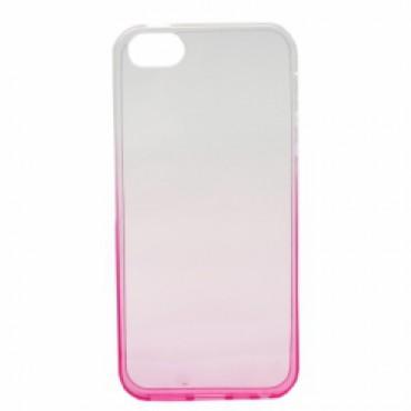 Huawei P8 Lite silikoonkaitse Ombre roosa