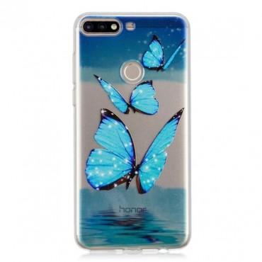 Huawei Y6 (2018) silikoonkaitse Butterflies