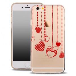 Samsung S7 / G930 silikoonkaitse õhuke läbipaistev Hearts