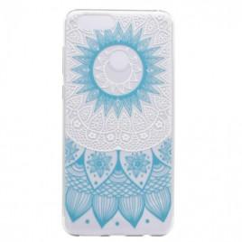 Huawei P9 Lite Mini silikoonkaitse Art Cyan