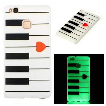 Huawei P9 Lite silikoonkaitse Art Piano