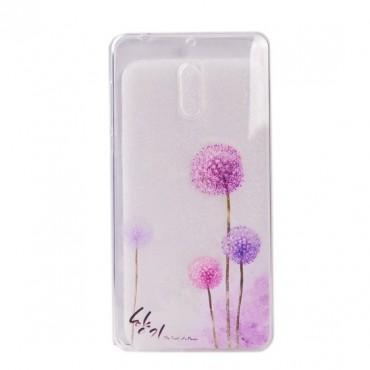 Nokia 6 silikoonkaitse Art Dandelions