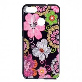 Huawei P9 Lite Mini silikoonkaitse Flowers