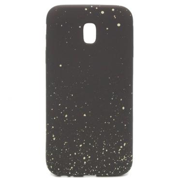 Samsung J3 (2017) / J330 silikoonkaitse Space Dots must
