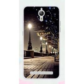 Coolpad Porto S silikoonkaitse Dark Night