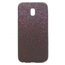 Samsung J3 (2017) / J330 silikoonkaitse Space Dots lilla