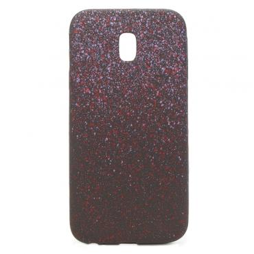 Sony Xperia XA1 silikoonkaitse Space Dots lilla