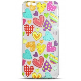 Apple Iphone 6 / 6S Trendy Heart silikoonkaitse