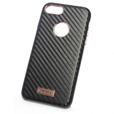 Apple Iphone 7 / 8 Remax kõvakaas Carbon must