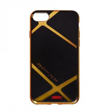 Apple Iphone 7 / 8 Remax silikoonkaitse Gold Lines