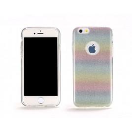 Apple Iphone 6 / 6s Remax silikoonkaitse Rainbow Glitter