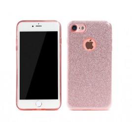 Apple Iphone 6 / 6s Remax silikoonkaitse Glitter roosa