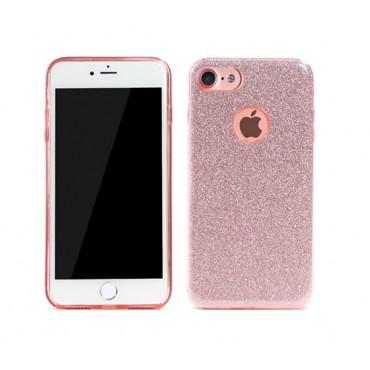 Apple Iphone 7 / 8 Remax silikoonkaitse Glitter roosa