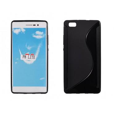 Huawei P8 lite silikoonümbris must