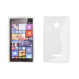 Microsoft /  Nokia Lumia 435 Silikoonümbris läbipaistev