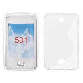 Microsoft /  Nokia Lumia 501 Silikoonümbris läbipaistev