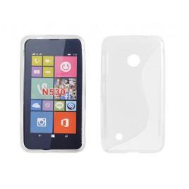 Microsoft /  Nokia Lumia 530 Silikoonümbris läbipaistev