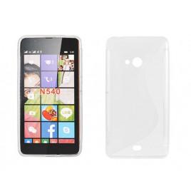 Microsoft /  Nokia Lumia 540 Silikoonümbris läbipaistev