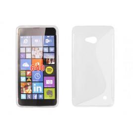 Microsoft /  Nokia Lumia 640 Silikoonümbris läbipaistev