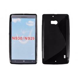 Microsoft /  Nokia Lumia 930 Silikoonümbris must